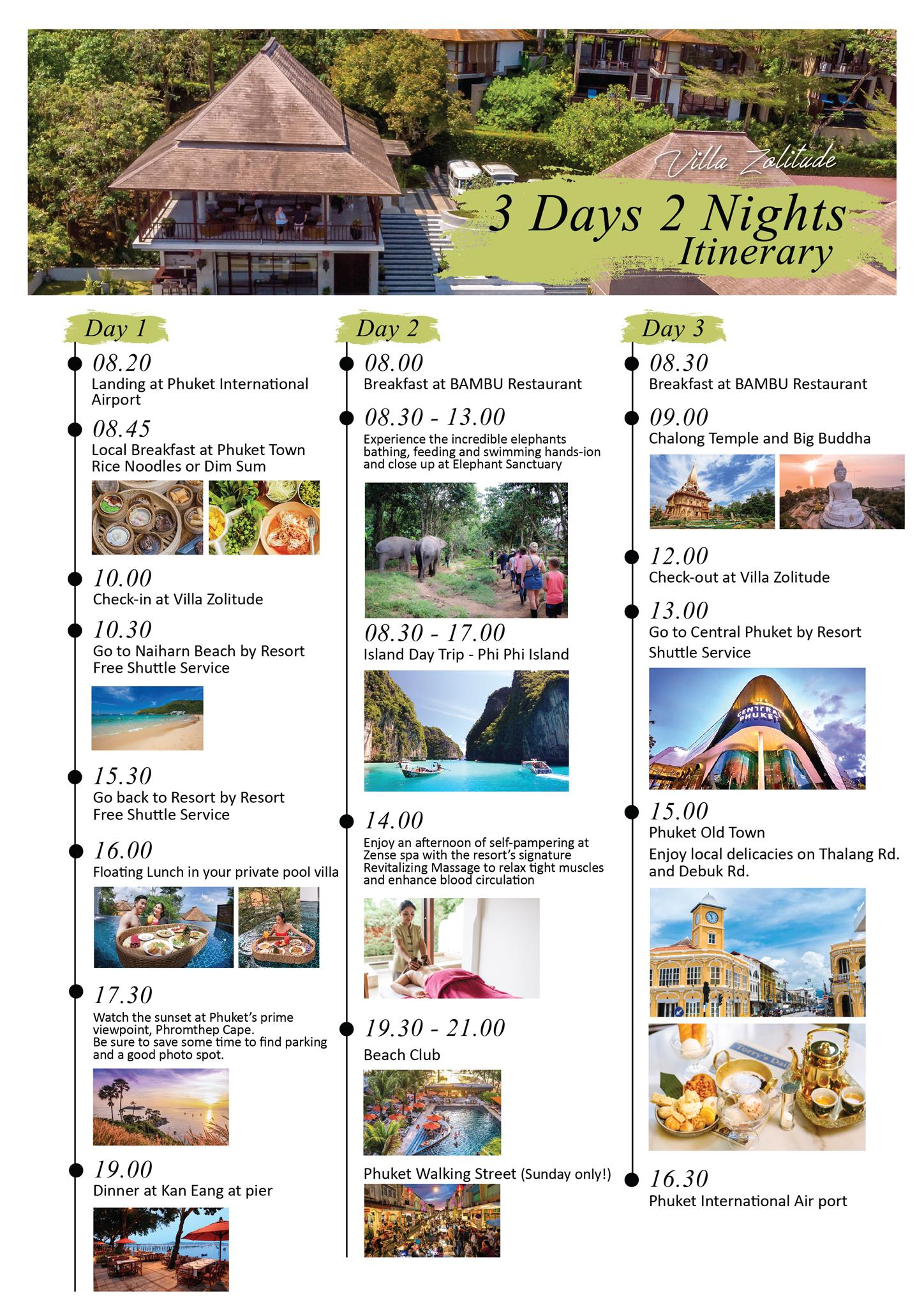 VZ Itinerary