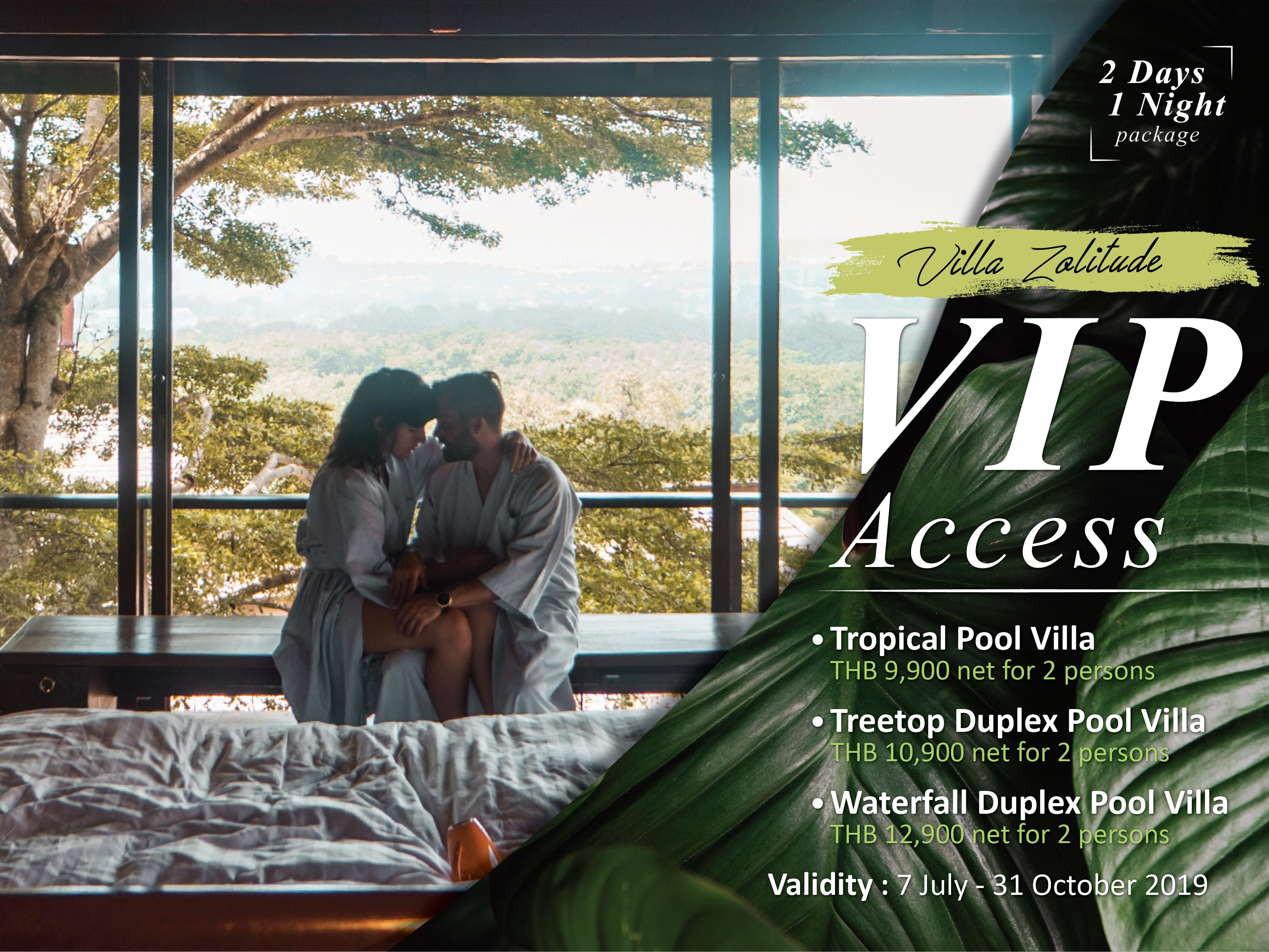 Pool Villa Resorts in Phuket - Villa Zolitude Resort & Spa